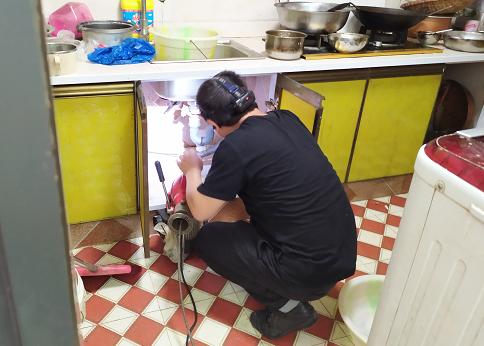 厨房管道疏通