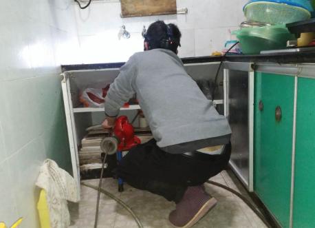 彭水疏通厨房管道