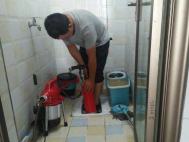 高压清洗管道